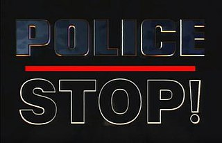 <i>Police Stop!</i> television series