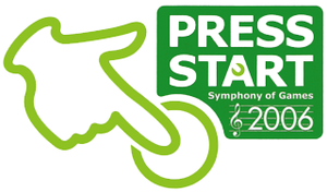 Press Start -Symphony of Games- - The logo of the Press Start 2006 -Symphony of Games- concert