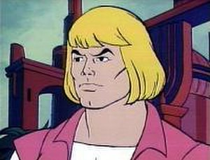 He-Man - Prince Adam, from the Filmation cartoon in which John Erwin provided the character's voice.