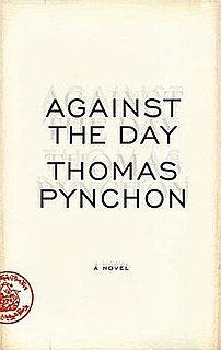 <i>Against the Day</i> 2006 novel by Thomas Pynchon