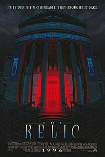 <i>The Relic</i> (film) 1997 science fiction/horror film directed by Peter Hyams