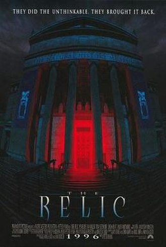 The Relic (film) - Theatrical release poster