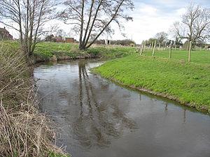 River Roden, Shropshire - Image: River Roden