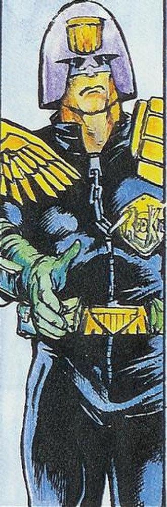 Academy of Law - Rookie Judge Kraken, art by Will Simpson.