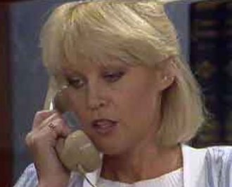 Rosemary Daniels - Rosemary as she appeared in a 1980's episode of Neighbours.