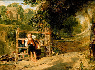 William Collins (painter) - Rustic Civility (1833)