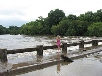 South Concho River - 2007 Flood of South Concho River