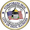 Official seal of Zion, Illinois