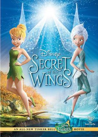 Secret of the Wings - DVD cover
