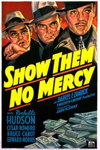 Show Them No Mercy! - Theatrical release poster