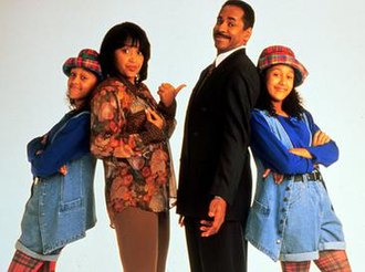 Sister, Sister (TV series) - The main original cast of Sister, Sister (from left to right), Tia Mowry with Jackée Harry as Tia and Lisa Landry and Tim Reid with Tamera Mowry as Ray and Tamera Campbell