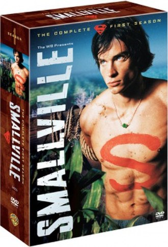 Smallville (season 1) - DVD cover