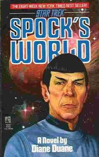 Spock's World - Cover of the first edition