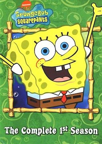 SpongeBob SquarePants (season 1) - DVD cover