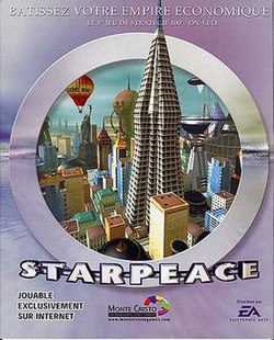 The StarPeace boxart