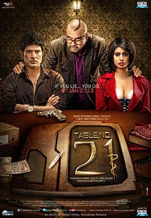 Table No. 21 - Theatrical release poster