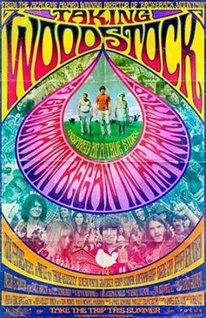 Taking Woodstock - Theatrical release poster