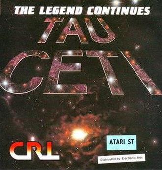 Tau Ceti (video game) - Image: Tau Ceti Title
