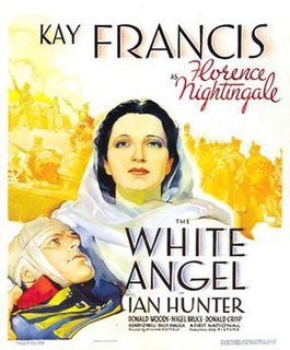 <i>The White Angel</i> (1936 film) 1936 American film depicting Florence Nightingale directed by William Dieterle