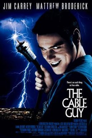 The Cable Guy - Theatrical release poster