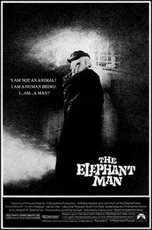 The Elephant Man (film) - Theatrical release poster