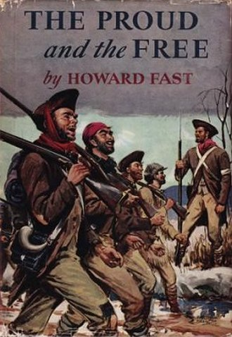 The Proud and the Free - First US edition (publ. Little, Brown) Cover art by Martha Sawyers