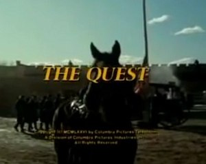 The Quest (1976 TV series) - Series title screen