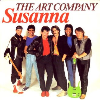 Suzanne (VOF de Kunst song) - Image: The Art Company Susanna