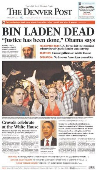 The Denver Post - Image: The Denver Post front page