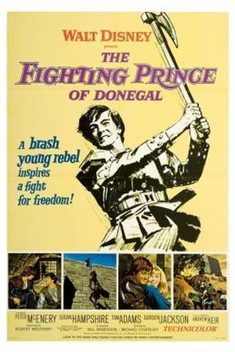The Fighting Prince of Donegal - Theatrical release poster