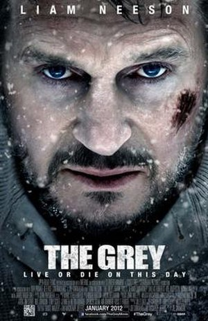 The Grey (film) - Theatrical release poster