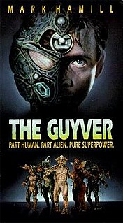 <i>The Guyver</i> 1991 film by Screaming Mad George