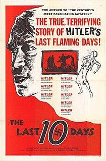 <i>The Last Ten Days</i> 1955 film by Georg Wilhelm Pabst