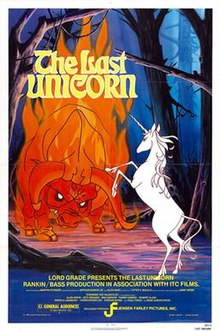The Last Unicorn 1982 Theatrical Poster