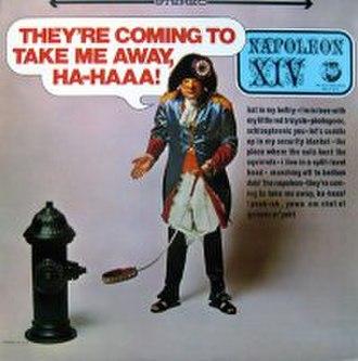 They're Coming to Take Me Away, Ha-Haaa! - Image: Theyre Coming To Take Me Away singlecover
