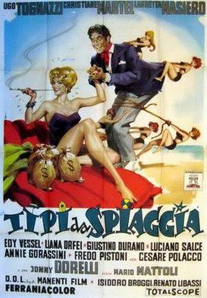 Tipi da spiaggia - Film poster
