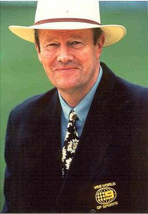 Tony Greig - Image: Tony Greig as commentator