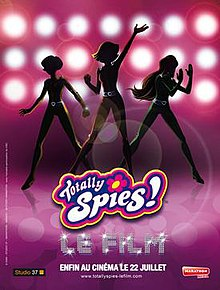 totally spies the movie wikipedia