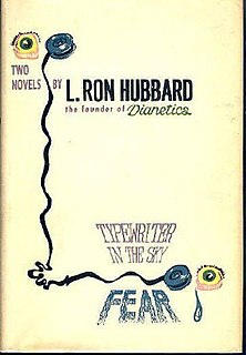 <i>Typewriter in the Sky</i> book by L. Ron Hubbard