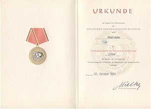 Die sache mit b wikivisually distinguished service medal of the national peoples army certificate distinguished service medal of the malvernweather Choice Image