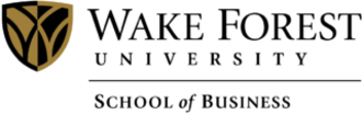 Wake Forest University School of Business - Image: WFU School of Business logo