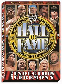 WWE Hall of Fame (2004) WWE Hall of Fame induction ceremony