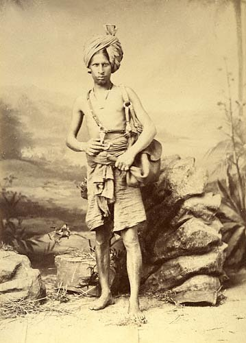 Water carrier in India