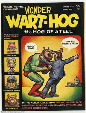 Wonder Wart-Hog - Image: Wonder wart hog cover MCB