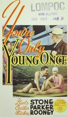 You're Only Young Once FilmPoster.jpeg