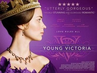The Young Victoria - Theatrical release poster