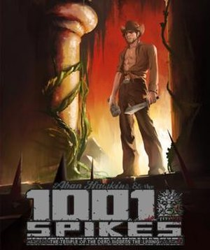 1001 Spikes - Image: 1001 Spikes Videogame Cover