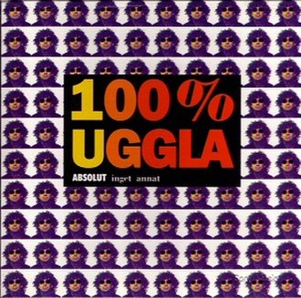 100% Uggla - Image: 100 percent Uggla Absolut inget annat