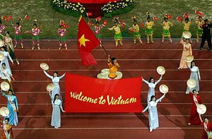 2001 Southeast Asian Games - Cultural presentation of Vietnam, host of the 2003 edition