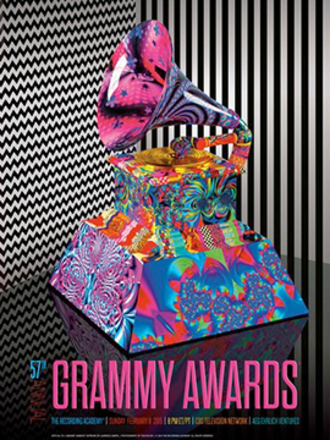 57th Annual Grammy Awards - Official poster
